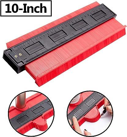 Ambility Professional 10Inch Contour Profile Gauge Tiling Laminate Tiles General Tools Duplicator