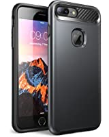 iPhone 7 Plus Case, iPhone 8 Plus Case ,NexCase Korona [Dual Layer] Apple iPhone 7 Plus Case/iPhone 8 Plus Case Cover [Ultra Slim] Armored Hybrid TPU Cover / Hard Outter Shell (MetallicGray)