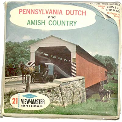 Classic ViewMaster-Pennsylvania Dutch and Amish Country - ViewMaster Reels 3D- unsold store Stock- Never Opened: Toys & Games