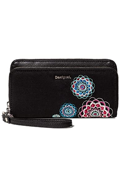 Desigual - MONEDERO ALIKI TWO LEVELS Mujer color: 2000 talla ...