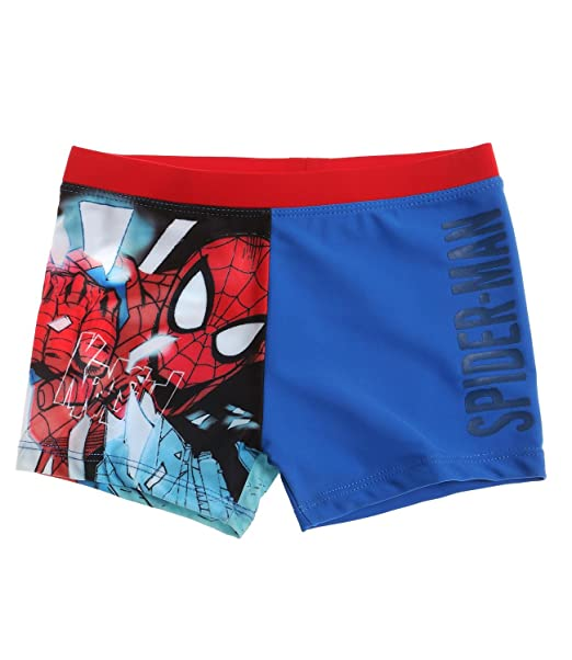 a07ea5ddf2 Spider-Man Boys Swim Shorts - blue - 10 Years / EUR 140. Size 10 Years /  EUR 140. Colour Blue: Amazon.co.uk: Clothing