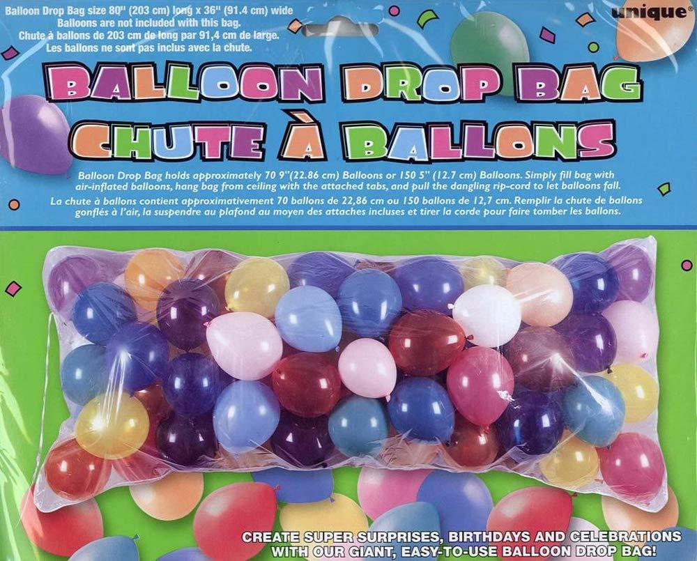 Unique Party 4909 Sac pour L/âcher de Ballons