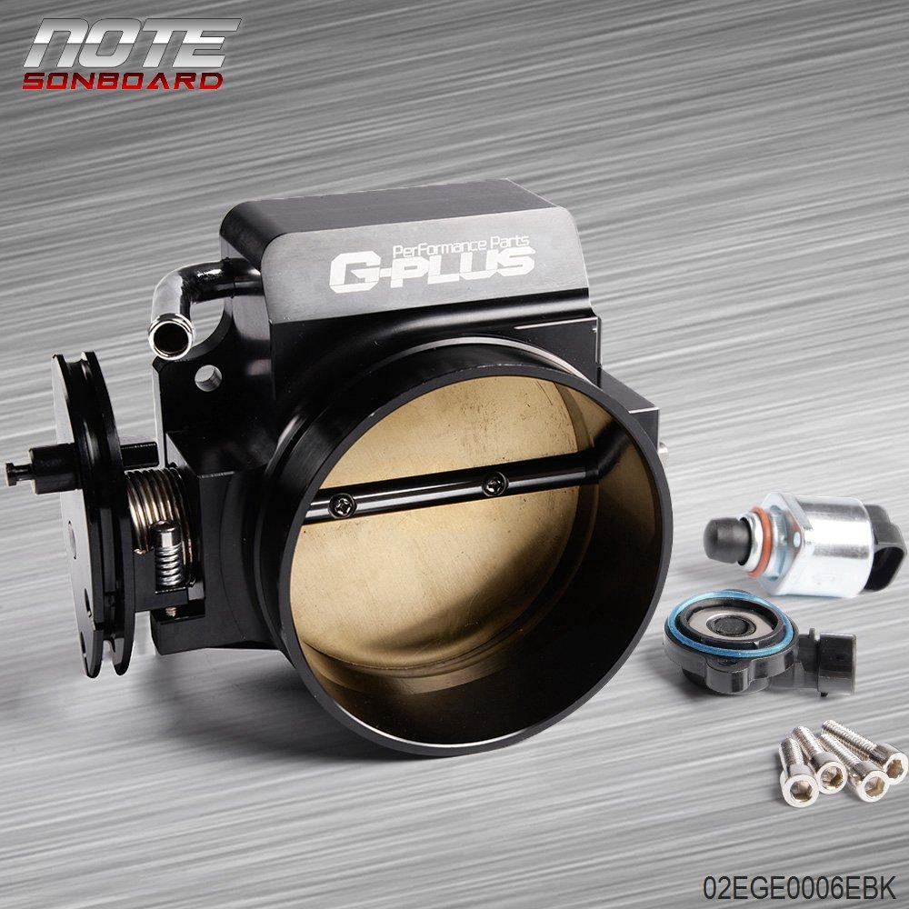 102mm Throttle body + TPS IAC Throttle Position Sensor For LSX LS LS1 LS2 LS7 Speedmotor