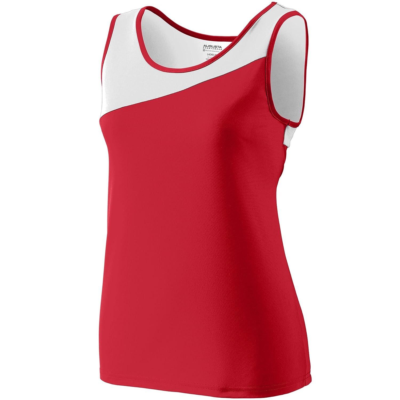 Augusta Sportswear Womens Accelerate Jersey S Maroon//White