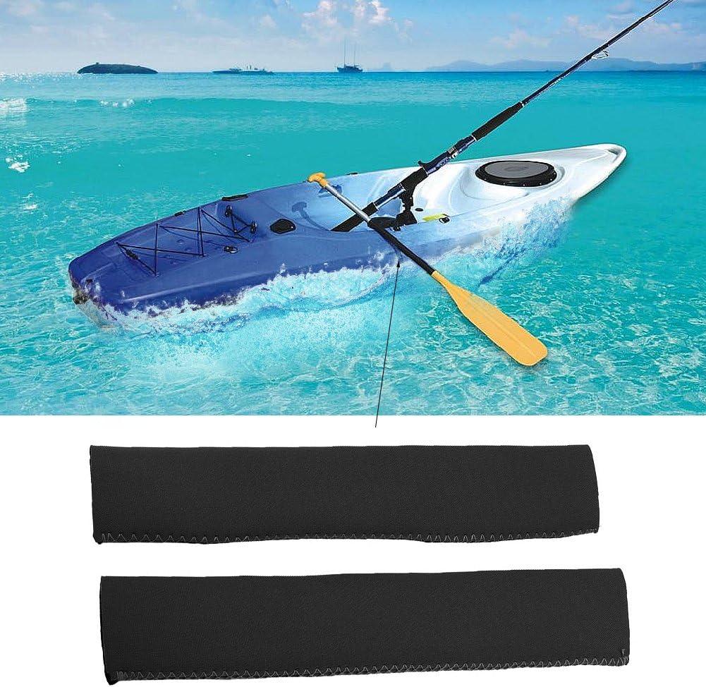 Overmont Pagaies de Canoe /à Double T/ête d/émontable Aluminium Longueur Totale 222cm pour Cano/ë Kayak Noir//Rouge//Orange