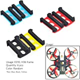 Crazepony 6pcs Foam Battery Compartment Adaptors for Eachine E010 Frame Tiny Whoop