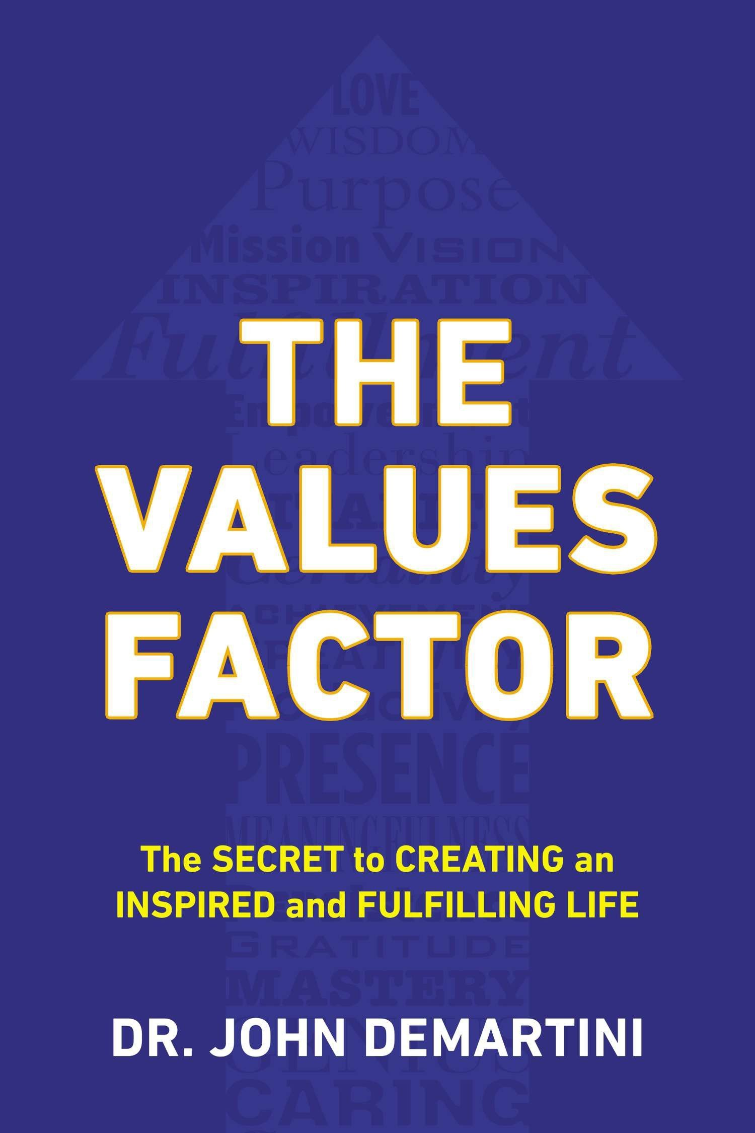 Download The Values Factor: The Secret to Creating an Inspired and Fulfilling Life PDF