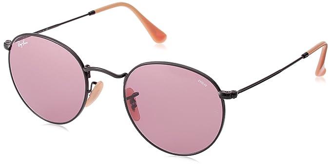 4895e6d93e Ray-Ban Men s Round Metal Sunglasses