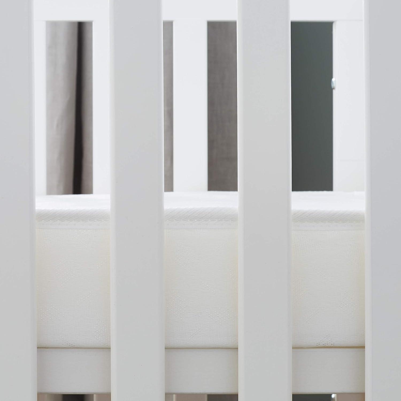 Blanc PTIT LIT Matelas B/éb/é Indispensable-70x140 cm-Climatis/é 1 Face Hiver-Oeko Tex-Fabrication Fran/çaise 70 x 140