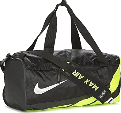 Nike Vapor Max Air 2.0 Small Duffle Bag - BA5249-010 - Black Volt   Amazon.co.uk  Shoes   Bags 0296cf8af