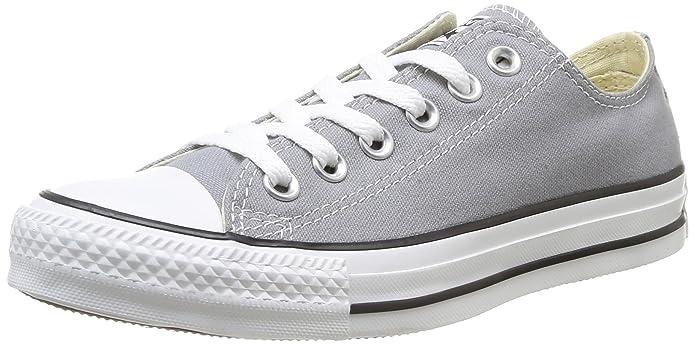 Converse Chuck Taylor (Chucks) All Star Ox Sneaker Unisex-Erwachsene Grau