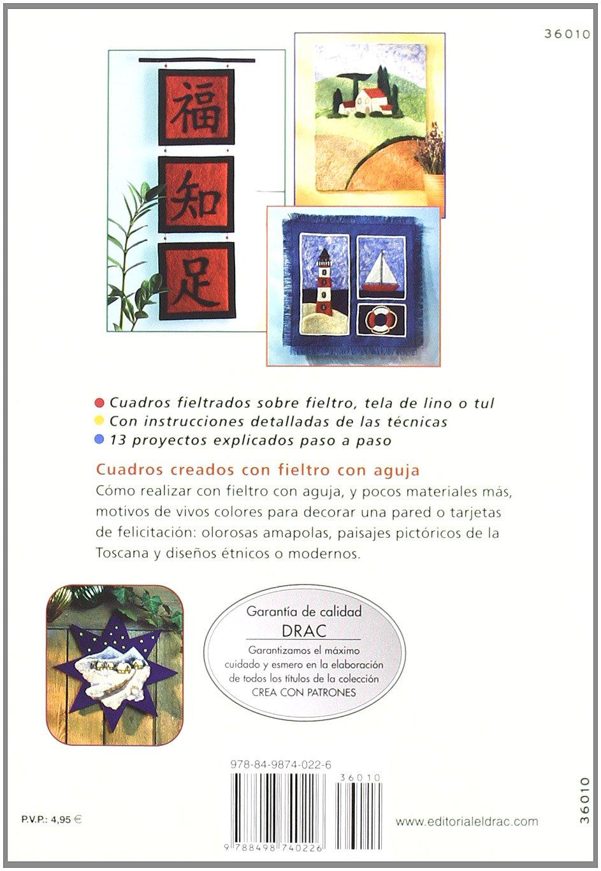 CREA CON PATRONES CUADROS DE FIELTRO MODELABLE CON AGUJA: KLOS(740226): 9788498740226: Amazon.com: Books