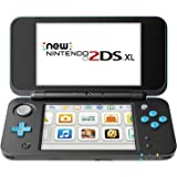 Nintendo New 2DS XL - Black + Turquoise (Renewed)