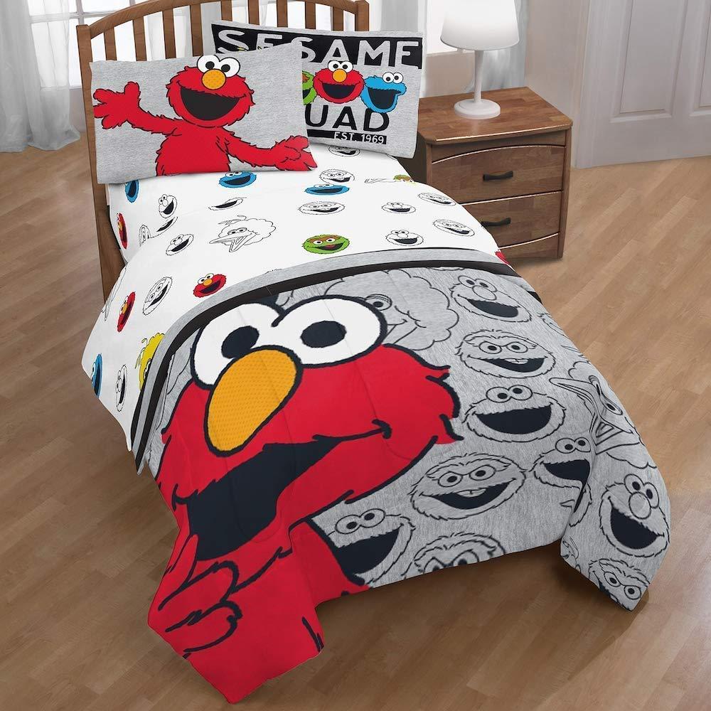 Franco Sesame Street Elmo Hip Elmo Twin/Full Comforter