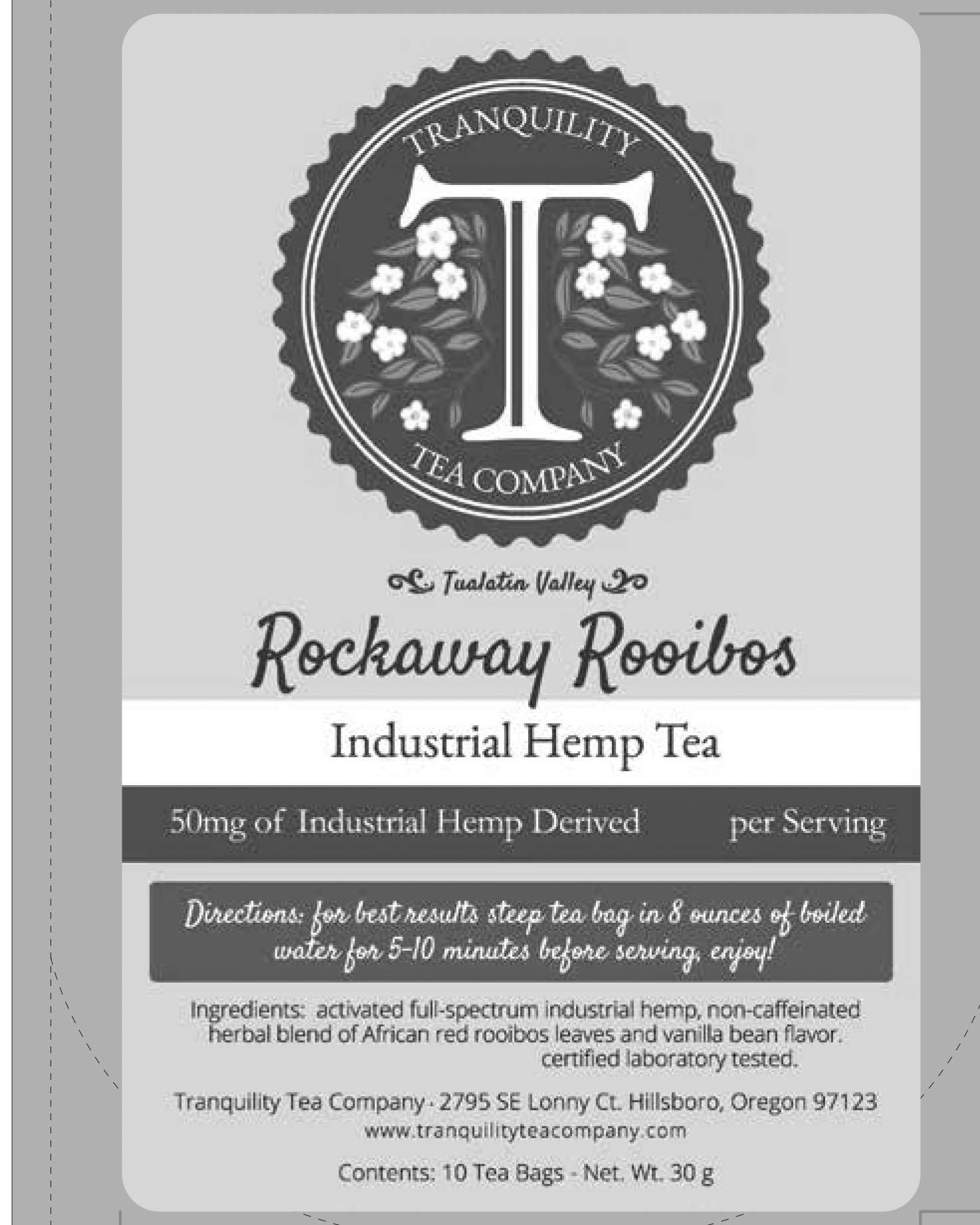 Rockaway Rooibos (10 pack) Tranquility Hemp Tea