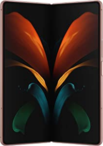 Samsung Galaxy Z Fold 2 5G | Factory Unlocked Android Cell Phone | 256GB Storage | US Version Smartphone Tablet | 2-in-1 Refined Design, Flex Mode | Mystic Bronze