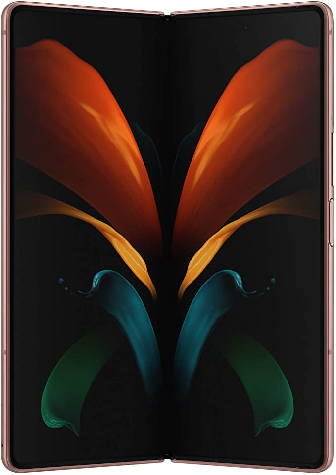 Amazon Com Samsung Galaxy Z Fold 2 5g Factory Unlocked Android Cell Phone 256gb Storage Us Version Smartphone Tablet 2 In 1 Refined Design Flex Mode Mystic Bronze