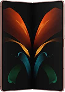 Samsung Galaxy Z Fold 2 5G   Factory Unlocked Android Cell Phone   256GB Storage   US Version Smartphone Tablet   2-in-1 Refined Design, Flex Mode   Mystic Bronze