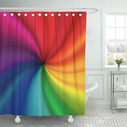 Amazon Emvency Shower Curtain Purple Trolls Colorful The