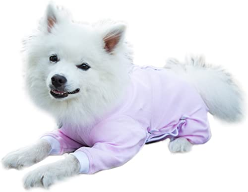 Cover Me by Tui Adjustable Fit Step-into with Long Sleeve for Pets, Large, Pink