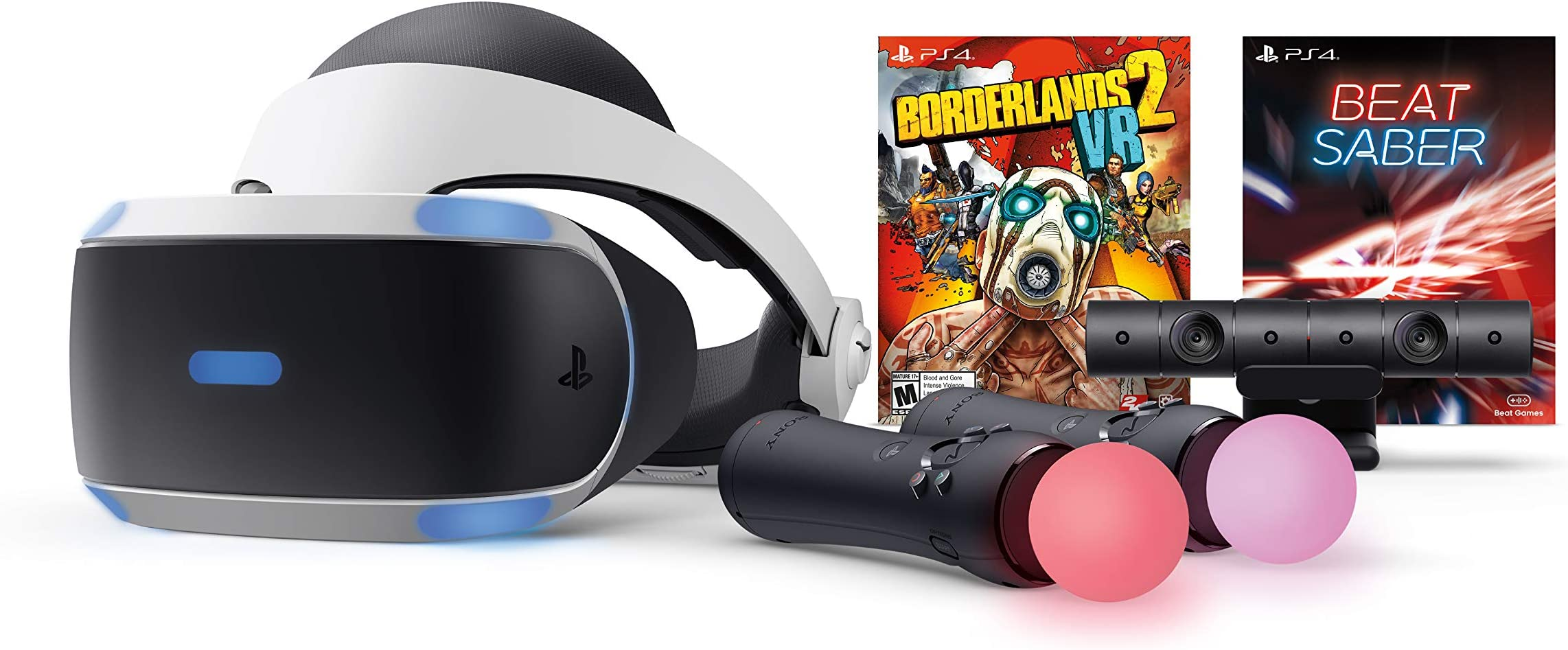 Amazon com: PlayStation VR - Borderlands 2 and Beat Saber