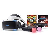 Playstation VR Bundle with Borderlands2 VR and Beat Saber Games. (PS4)