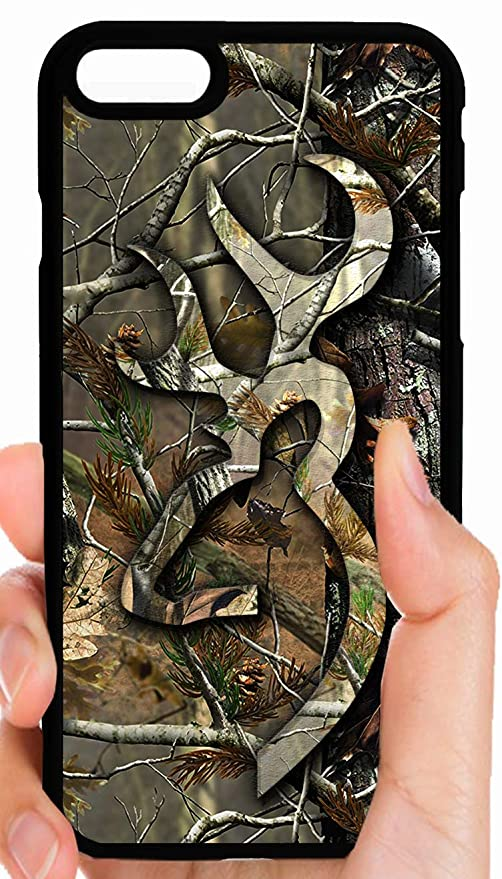 timeless design beb45 a8f7e Amazon.com: Browning All Camo Camouflage Background Buck Logo ...