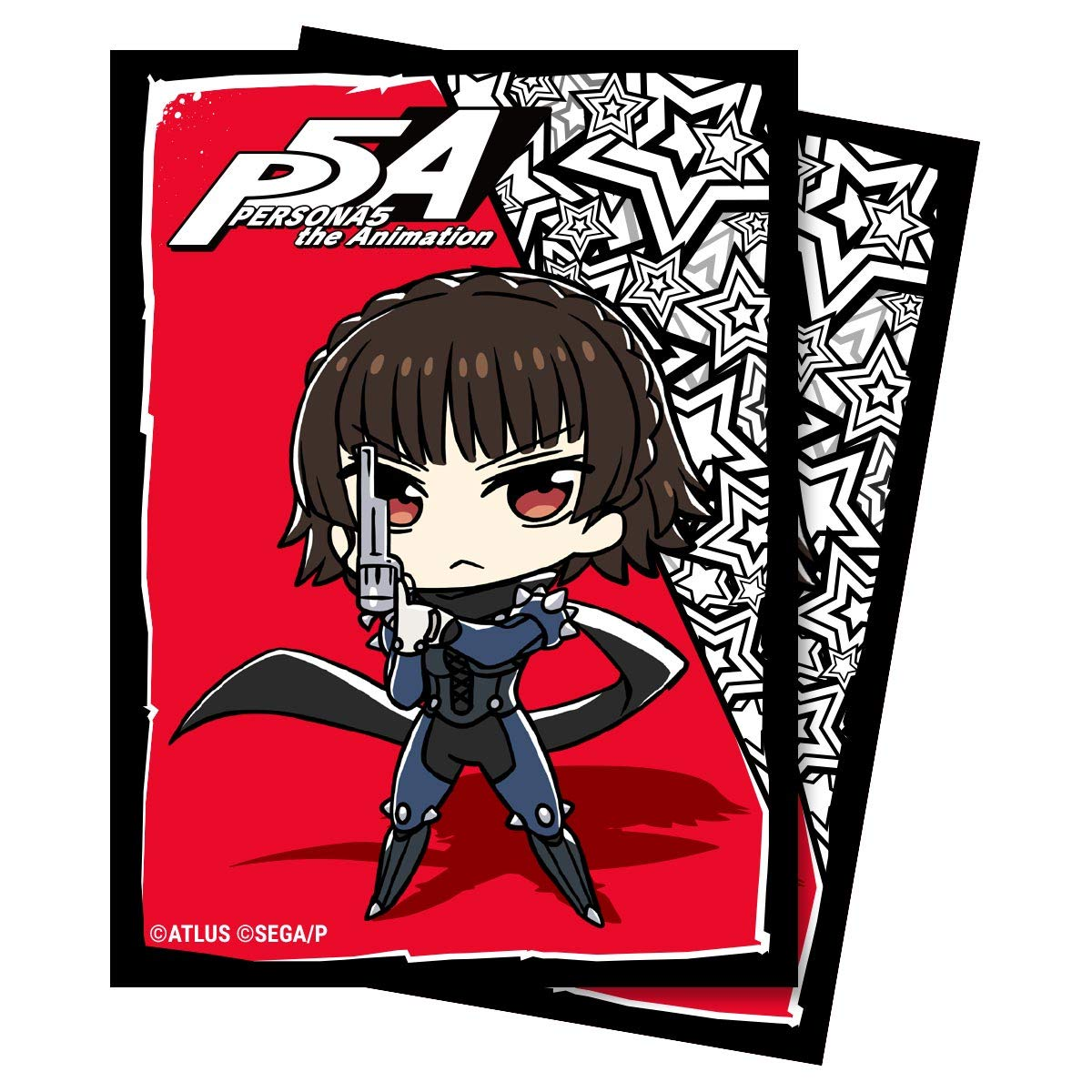 Ultra Pro PS5 Persona 5 The Animation Chibi Mikoto Card Game 65ct Printed Art Card Sleeves