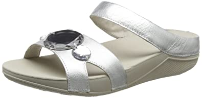 702379a06889b0 Fitflop Women s Luna Pop Slide Open-Toe Sandals