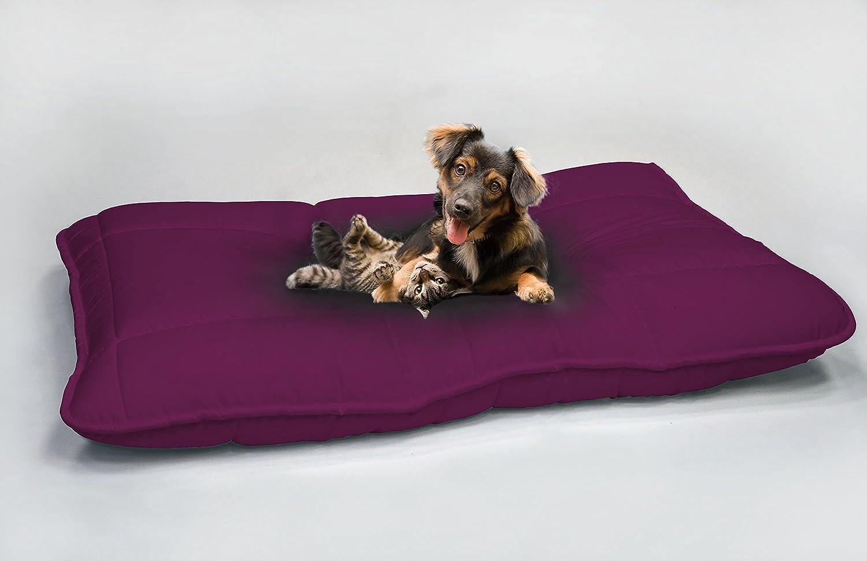 Cuccia cuscino maxi per animali imbottito 100% microfibra made in Italy elegant - Grigio scuro - 60 x 100 cm Il Gruppone