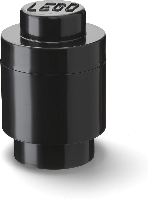 LEGO Round Storage Box 1, Black