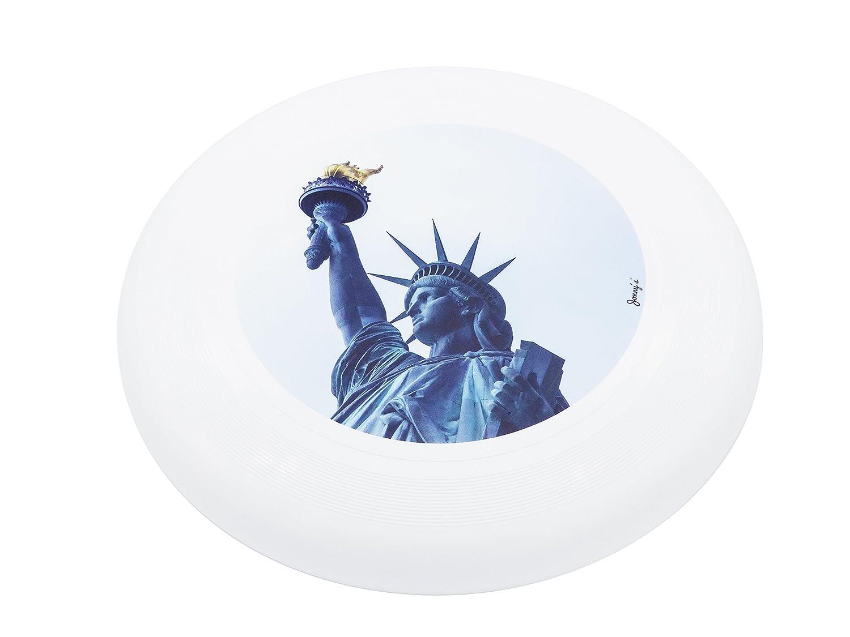 Original US Jonny 's Ultimate Frisbee 175 g Diseñ o Edition, New York Liberty JonnyŽs