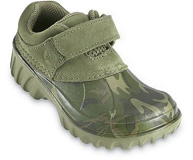 175a3b0fa4eff Crocs Axle Kids, green camo/army, Gr. 23/24: Amazon.de: Schuhe ...