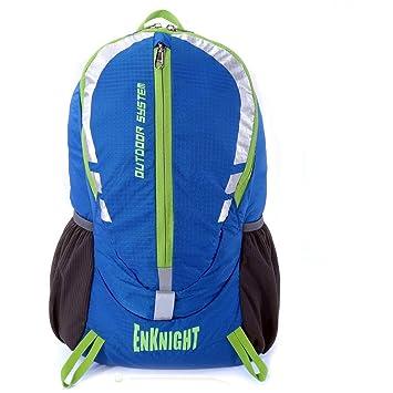 ENKNIGHT 28L Impermeable Mochila de Senderismo Paquete del Alpinismo ligero plegable resistente al agua mochila de viaje Escalada Marcha camping senderismo ...