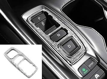 HAILWH Bling Interior Accessories Fit for Honda Accord Sport EX EX-L Touring Sedan Inspire 2018-2020 Rhinestone Upgrade Retrofit Decal Cover Air Conditioning knob