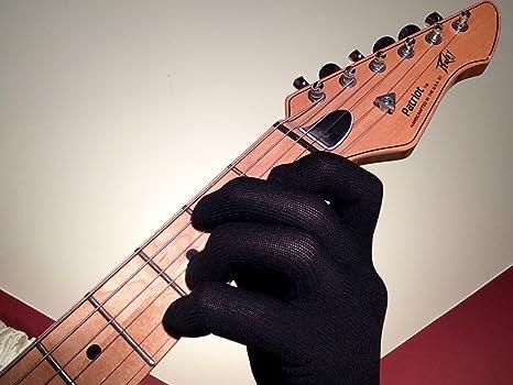 Guante para guitarra, guante para bajo, guante para ensayos
