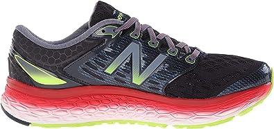 New Balance W1080V6, Zapatillas de Entrenamiento, Hombre, Negro (Black/Red/Silver), 41.5 EU: Amazon.es: Zapatos y complementos