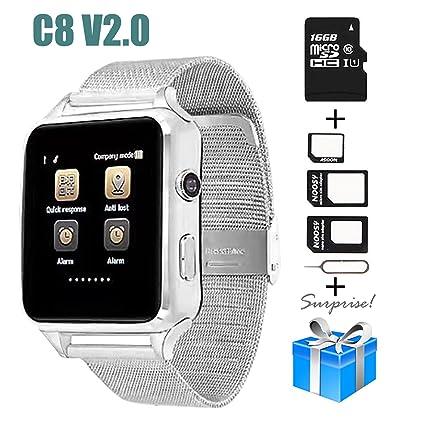 Amazon.com: Smartwatch, collasaro a prueba de sudor Smart ...