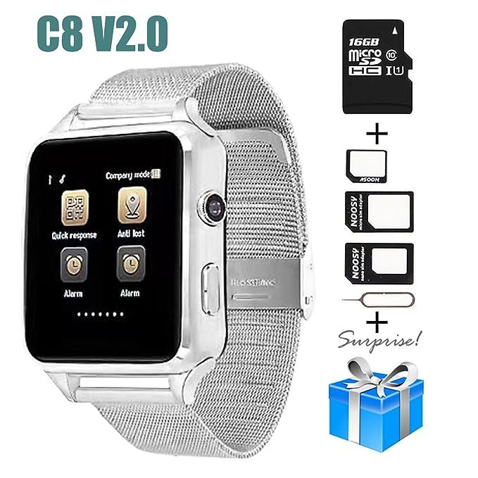 Smartwatch, Collasaro - Reloj Inteligente con cámara y ...