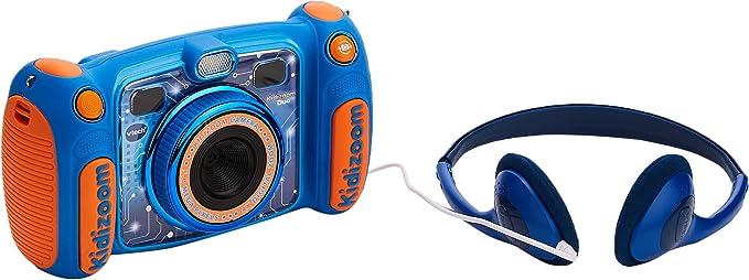 PINK VTech Kidizoom Cam/éra pour enfant Duo 5 m/égapixels avec carte SD 4 Go Bleu