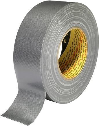 nastro adesivo Tessuti Nastro Duct Tape carri armati argento nastro 75 M//4,8 cm