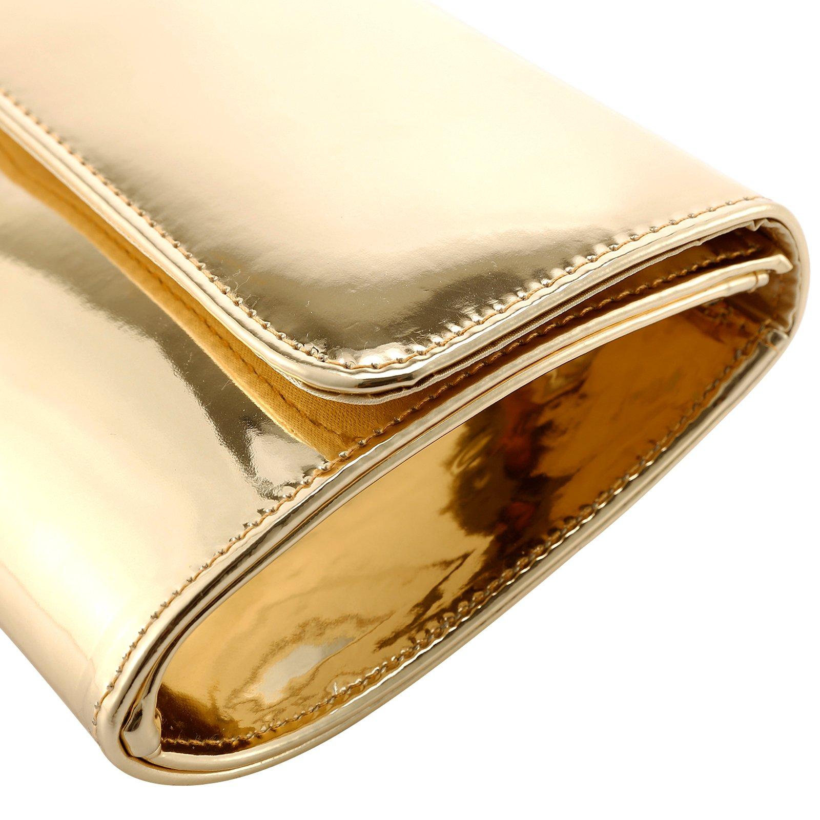 Fraulein38 Designer Mirror Metallic Women Clutch Patent Evening Bag by Fraulein38 (Image #6)