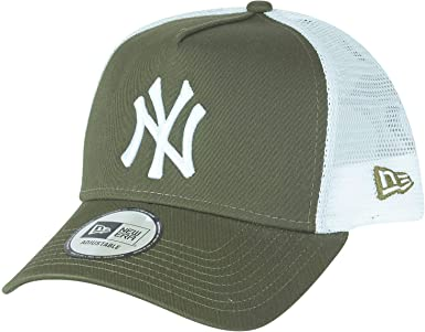 A NEW ERA Gorra Trucker A-Frame York Yankees Verde Oliva ...