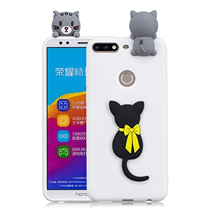 Amazon.com: IVY Honor 7C Case [3D Cartoon] Ultra Thin Soft ...