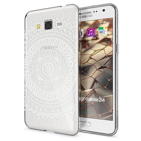 NALIA Funda Carcasa para Samsung Galaxy Grand Prime, Protectora Movil TPU Silicona Ultra-Fina Gel Transparente/Cubierta Goma Bumper Cover Case Clear ...