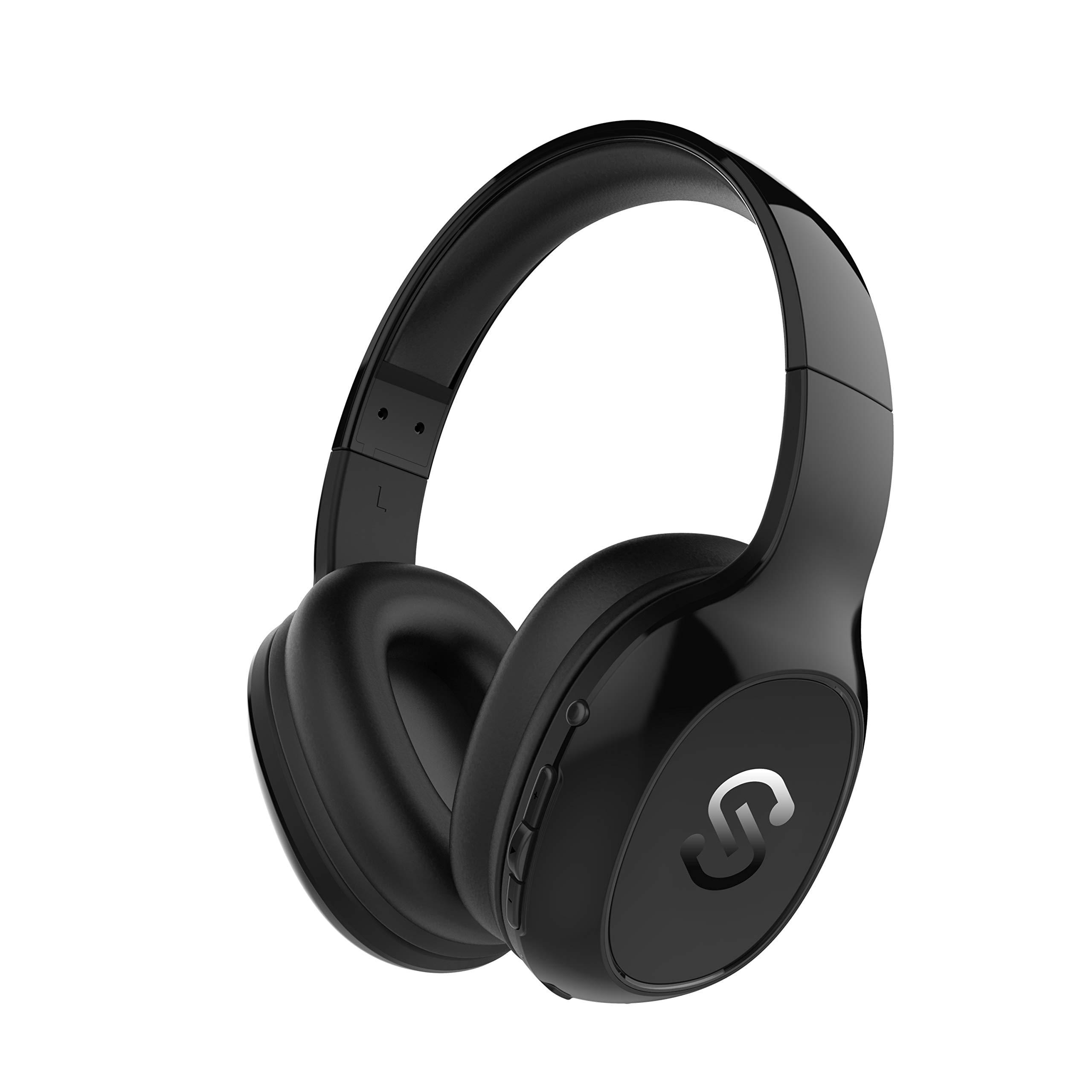 Cascos Bluetooth 4.1 SoundPEATS A2 Auriculares de Diadema Inalámbricos Over-ear con Micrófono Manos Libres