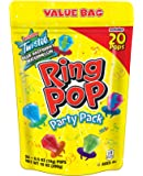 Ring Pop Individually Wrapped Variety Party Pack – 20 Count Candy Lollipop Suckers w/ Assorted Flavors