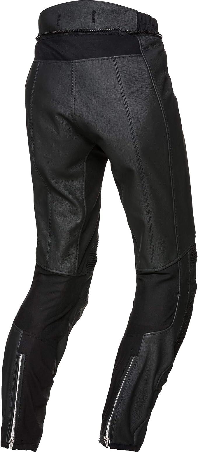 FLM Pantalon combin/é en Cuir Pantalon de Moto Pantalon de Combinaison en Cuir Sport 2.1 Toute lann/ée Sportler Hommes