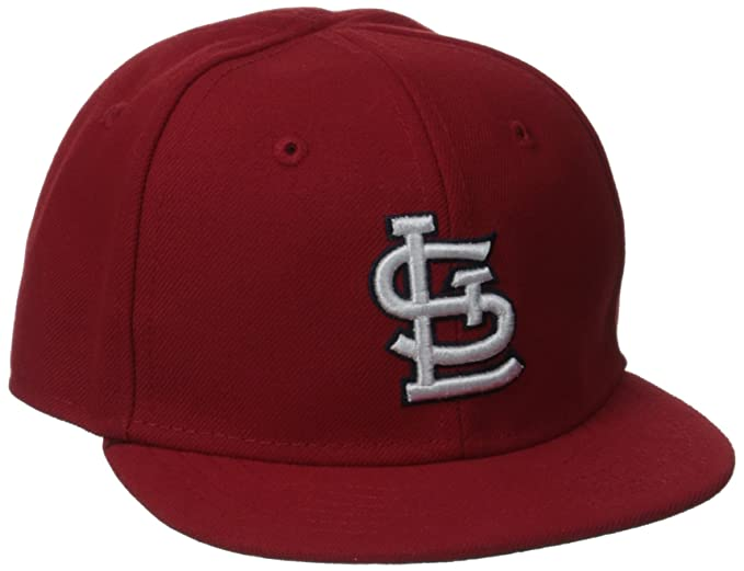 newest 9e711 393d6 Amazon.com   MLB St. Louis Cardinals Home My 1st 59Fifty Infant Cap, Size 6    Sports Fan Baseball Caps   Clothing