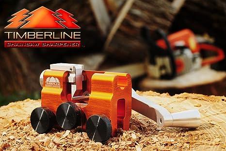 Amazon.com: Timberline Afilador de motosierra con cortador ...